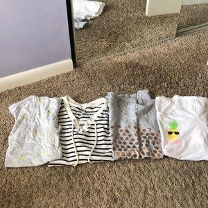 Tops - Women's tee shirt bundle tops